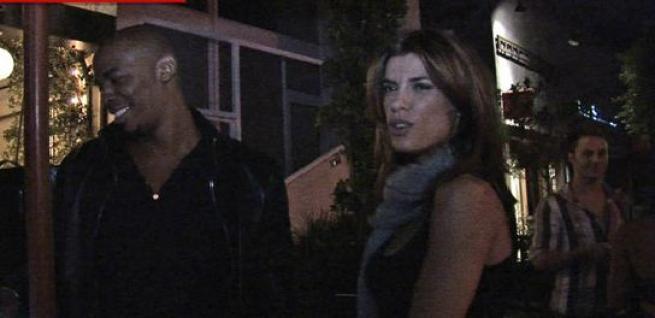 Elisabetta Canalis dopo Clooney flirta con Mehcad Brooks di True Blood