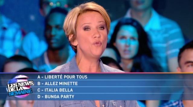 """""""Forza Gnocca"""" diventa una domanda di un quiz francese (video)"""