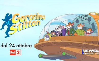 La serie animata di Geronimo Stilton da oggi su Rai Due con 26 nuovi episodi