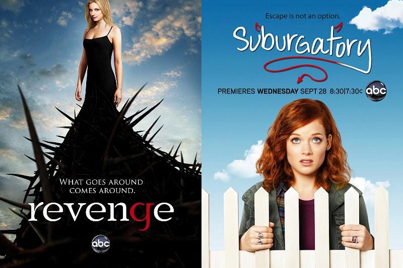 ABC: rinnovo per Revenge e Suburgatory, sei sceneggiature per Happy Endings 2