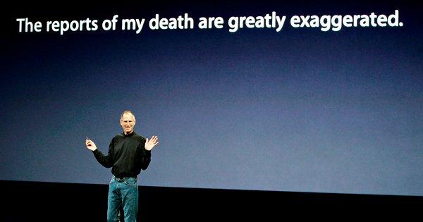 Rai 3 e Italia 1 ricordano Steve Jobs con Agorà e Live