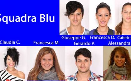 Amici 11, la Squadra Blu