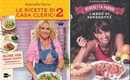 La Prova del Cuoco vs I Menù di Benedetta: la sfida continua in libreria