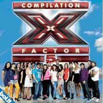 XFactor5_compilation cover