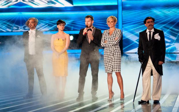 X Factor 5 scivola come l'olio, ma i veri talenti sono Morgan ed Elio