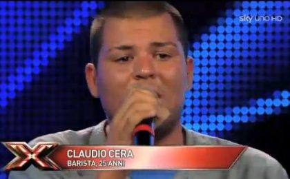 Claudio Cera, concorrente Over 25 di X Factor 5 (foto e video)