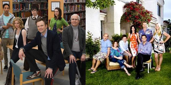 Cougar Town e Community, appelli online per la 'messa in onda certa' della terza stagione
