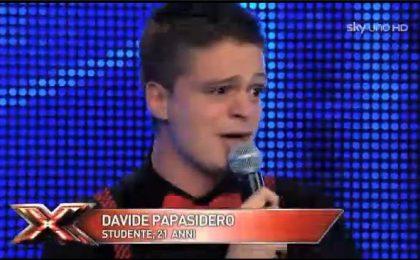 Davide Papasidero, concorrente Under 24 Uomini di X Factor 5 (foto e video)