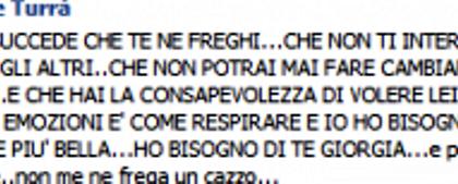 Uomini e Donne, Giuseppe Turrà ridicolo: 'Giorgia, ho bisogno di te'
