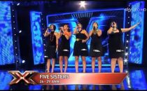 Le 5 (Five Sisters), concorrenti Gruppi Vocali di X Factor 5 (foto e video)