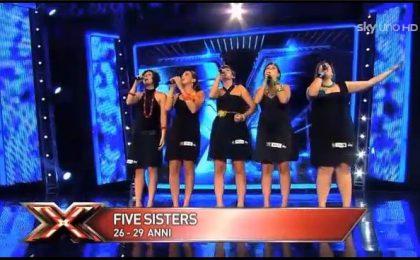 Le 5 (Five Sisters), concorrenti Gruppi Vocali di X Factor 5 (foto e video)