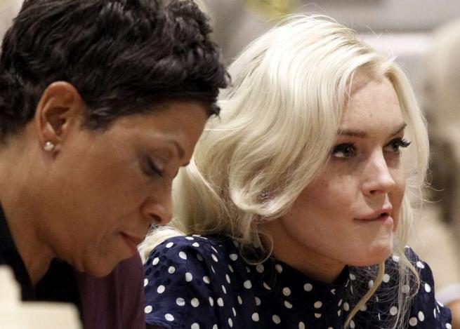 Lindsay Lohan è già uscita dal carcere: si è fatta appena 4 ore di prigione