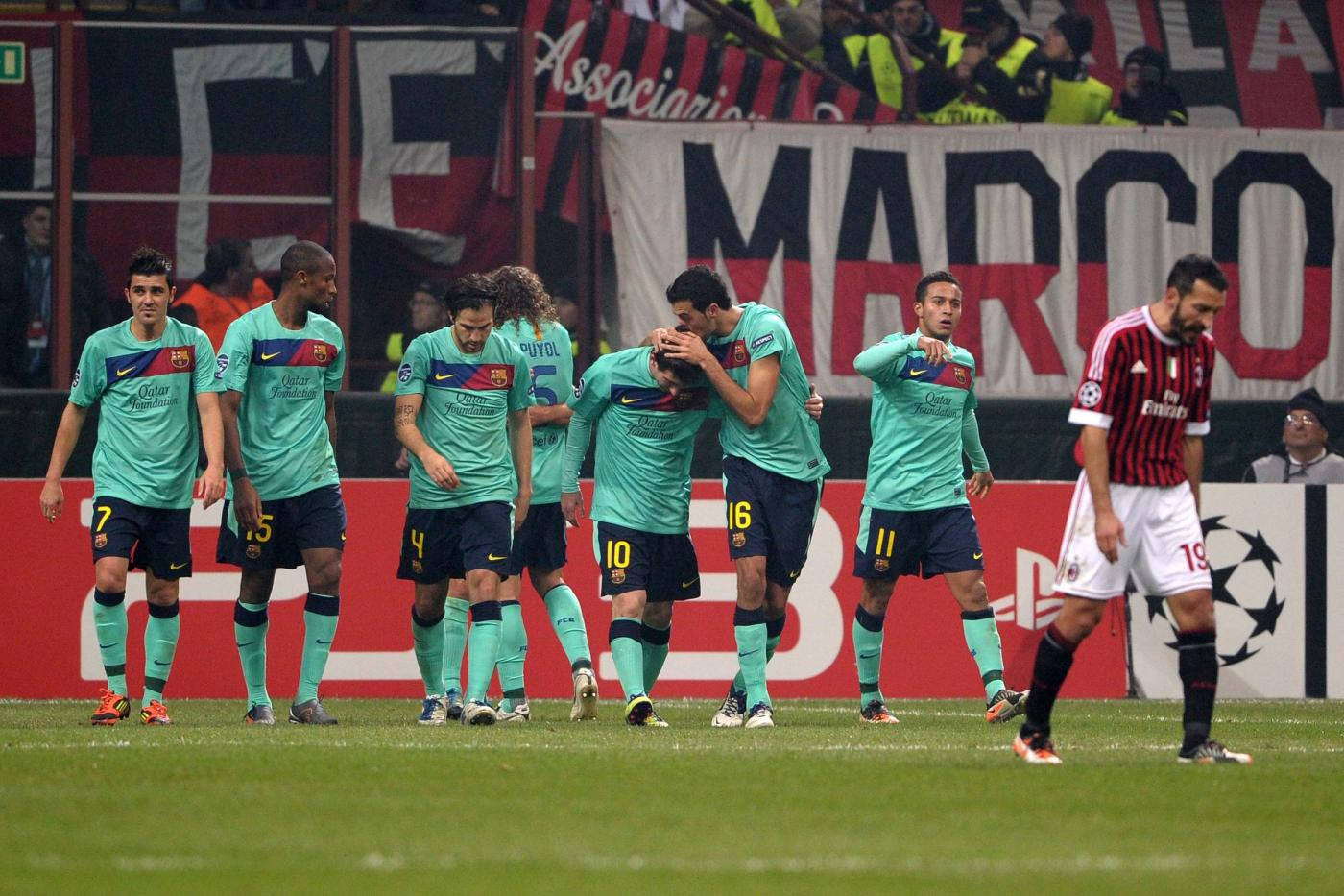 Ascolti tv mercoledì 23 novembre 2011: oltre 6,5 mln per Milan-Barça,