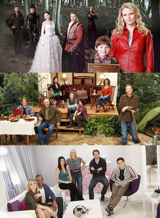 ABC rinnova Once Upon A Time, Last Man Standing e Happy Endings; 5 script per Pan Am