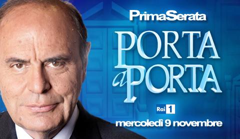Programmi tv stasera, oggi 9 novembre 2011: Speciale Porta a Porta, Un Amore e una Vendetta, I Pilastri della Terra