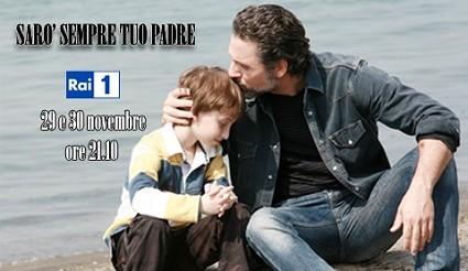 Ascolti Tv martedì 29 novembre 2011: stravince Sarò sempre tuo padre, crolla Baciati dall'amore