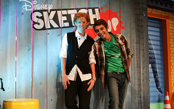 sketch up 2 disney xd