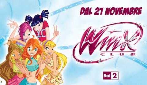 Winx Club: da lunedì su Rai Due quattro film tv tratti dalla serie tv animata