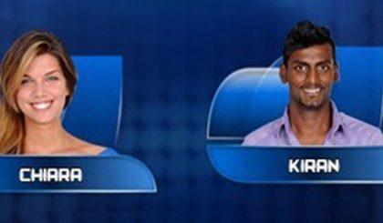 Grande Fratello 12, live 10° puntata: Floriana rosica per Luca, esce Kiran, entra Monica