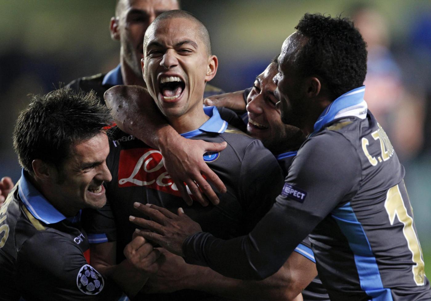 Ascolti tv mercoledì 7 dicembre 2011: vince Villareal-Napoli