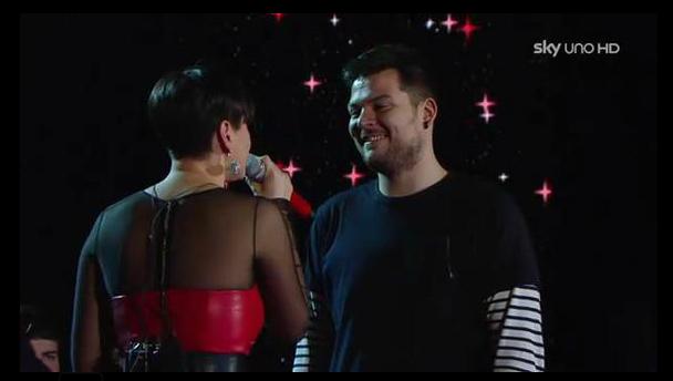 X Factor 5, Arisa e Claudio Cera 'Ancora' insieme (video)