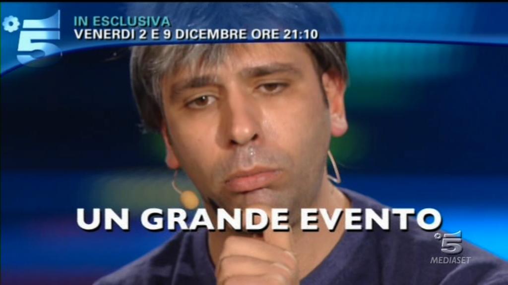 Ascolti tv venerdì 2 dicembre 2011: Checco Zalone supera i 5,6 mln