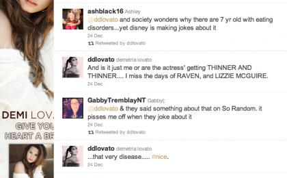 Demi Lovato contro la Disney per una battuta sull'anoressia in A tutto ritmo