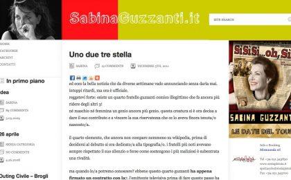 Sabina Guzzanti torna in tv: a marzo Uno due tre stella su La 7