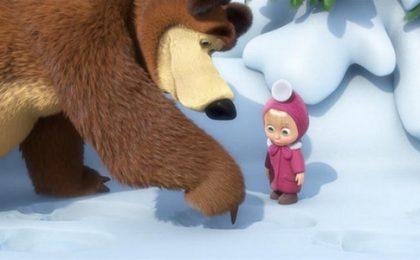 Masha e Orso, al via la nuova serie animata di Rai Due