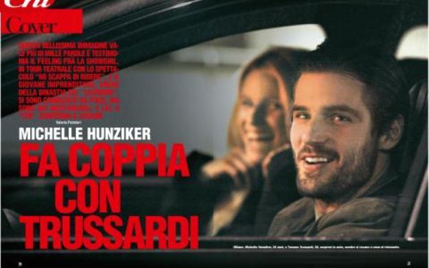 Michelle Hunziker conferma il flirt con Trussardi jr