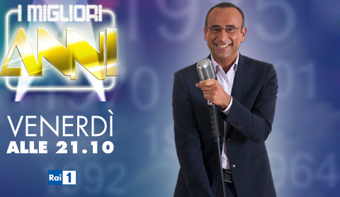 Programmi tv stasera, oggi 9 dicembre 2011: l'ultima dei Migliori Anni e di Resto Umile World Show