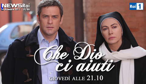 Programmi tv stasera, oggi 15 dicembre 2011: Che Dio ci aiuti, Udinese-Celtic, Io & Marilyn