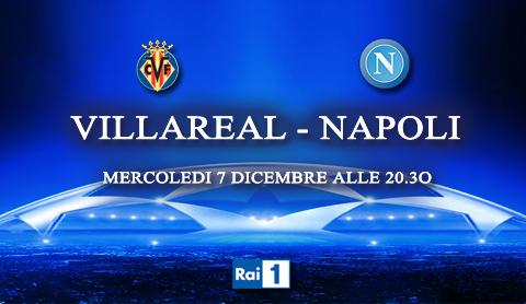 Programmi tv stasera, oggi 7 dicembre 2011: Villareal-Napoli, Baciati dall'amore, Colorado