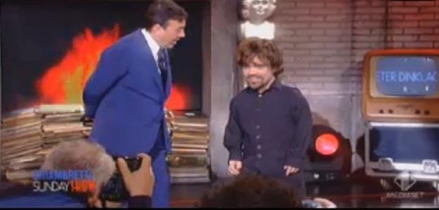 Chiambretti al Sunday Show: 'Anch'io ho navigato, per fortuna mai con uno Schettino'