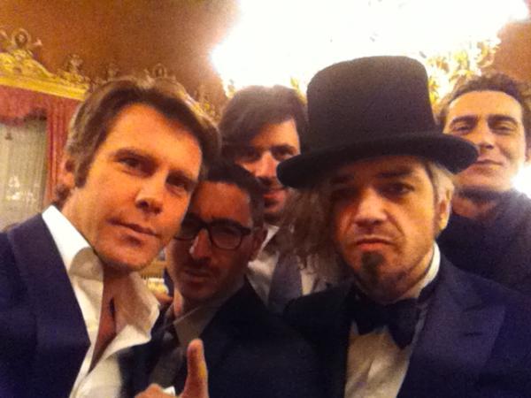 Morgan ed Emanuele Filiberto insieme a Sanremo 2012