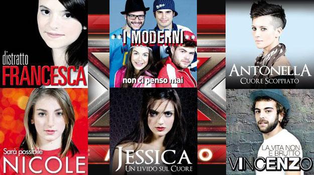 X Factor 5, da oggi su iTunes gli EP dei concorrenti: le tracklist