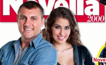 Ballando con le stelle 2012, Bobo Vieri bacia Ariadna Romero e twitta con la Canalis