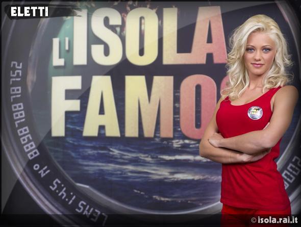 Isola dei Famosi 9, i concorrenti 'eletti': Eliana Cartella