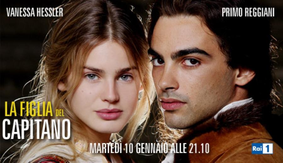 Ascolti tv martedì 10 gennaio 2012: vince ancora La Figlia del Capitano, Ballarò a 4,7 mln