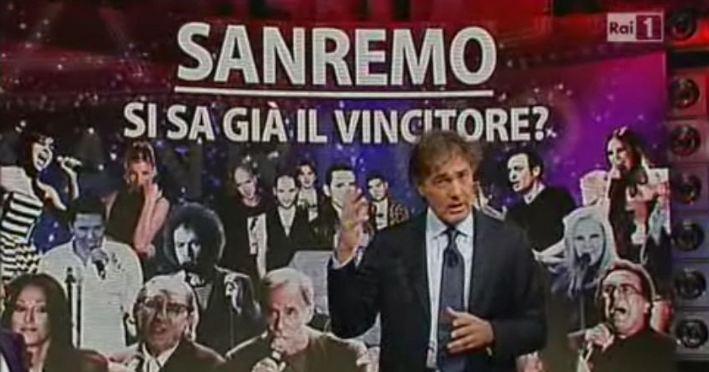 Sanremo 2012, i 14 Big annunciati a L'Arena il 15 gennaio
