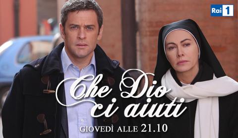 Ascolti tv giovedì 26 gennaio 2012: Che Dio Ci Aiuti batte Milan-Lazio