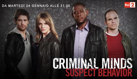 Programmi tv stasera, oggi 24 gennaio 2012: Juventus-Roma, Baciami Ancora, Criminal Minds Suspect Behavior