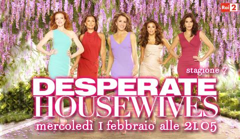 Programmi tv stasera, oggi 1 febbraio 2012: Desperate Housewives 7, Il tredicesimo apostolo, Il piccolo lord