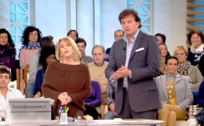 Forum, Rita Dalla Chiesa dà i numeri: attacco ingiustificato a Bracconeri