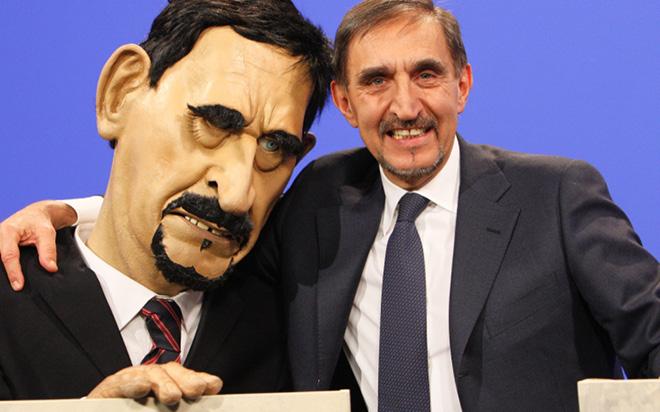 Gli Sgommati in prime time su Sky Uno con Apocalisse 2012: i politici incontrano i pupazzi