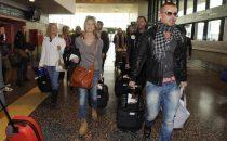 Cast dell'Isola dei Famosi 9 in partenza per l'Honduras