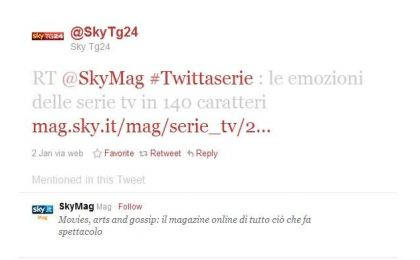 #Twittaserie, quando (tutte) le serie tv diventano trending topic su Twitter