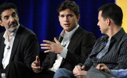 TCA Tour 2012, Two and a Half Men: 'Volevamo chiudere, adesso faremo una decima stagione' (ma Ashton Kutcher non ha ancora firmato)