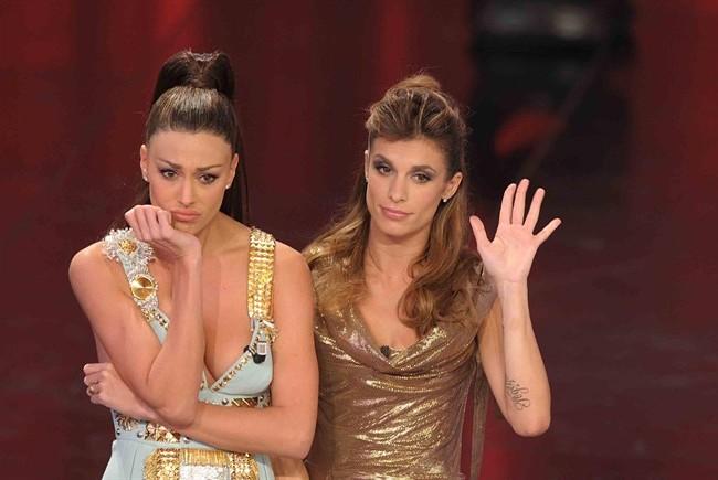 Canalis Belén Sanremo2011