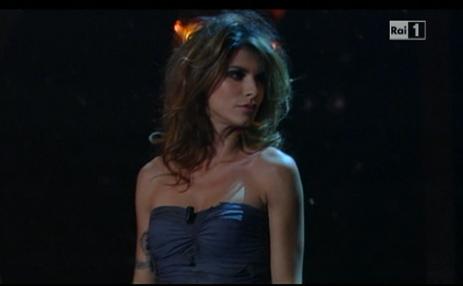 Canalis Celentano Sanremo2012